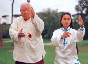 Maestro Fu Zhong Wen e Maestro Li Rong Mei