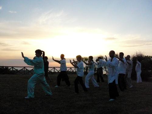 Taijiquan e Qi Gong al tramonto